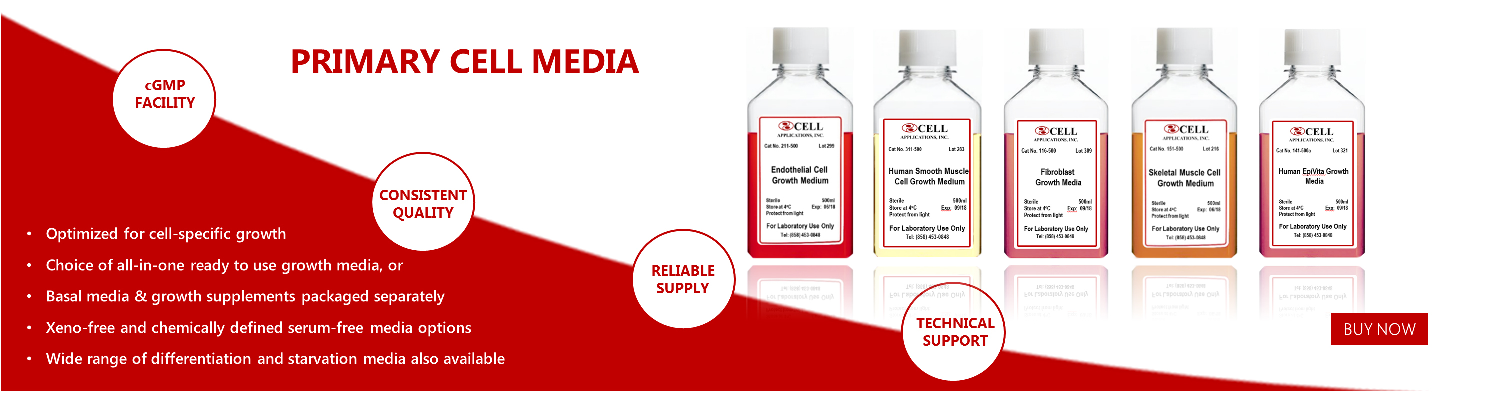 MEDIA & REAGENTS   Cell Applications