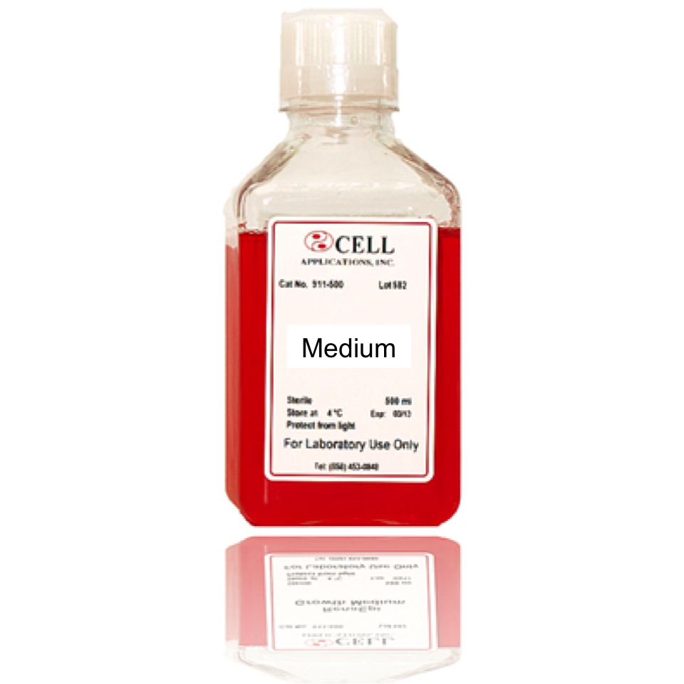 Skeletal Muscle Cell Medium For In Vitro Culture Sterile Cell